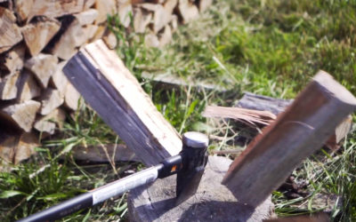 The Economics of Splitting Wood by Hand